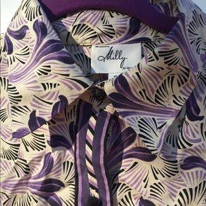Milly New York silk dress SZ 2.